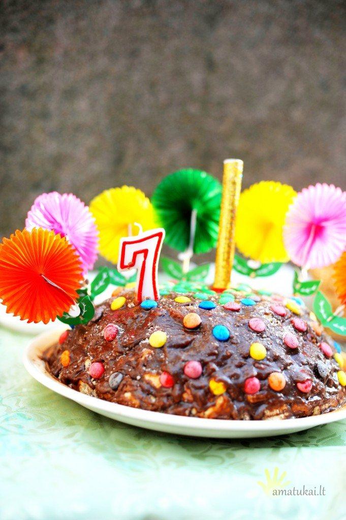 tinginio tortas