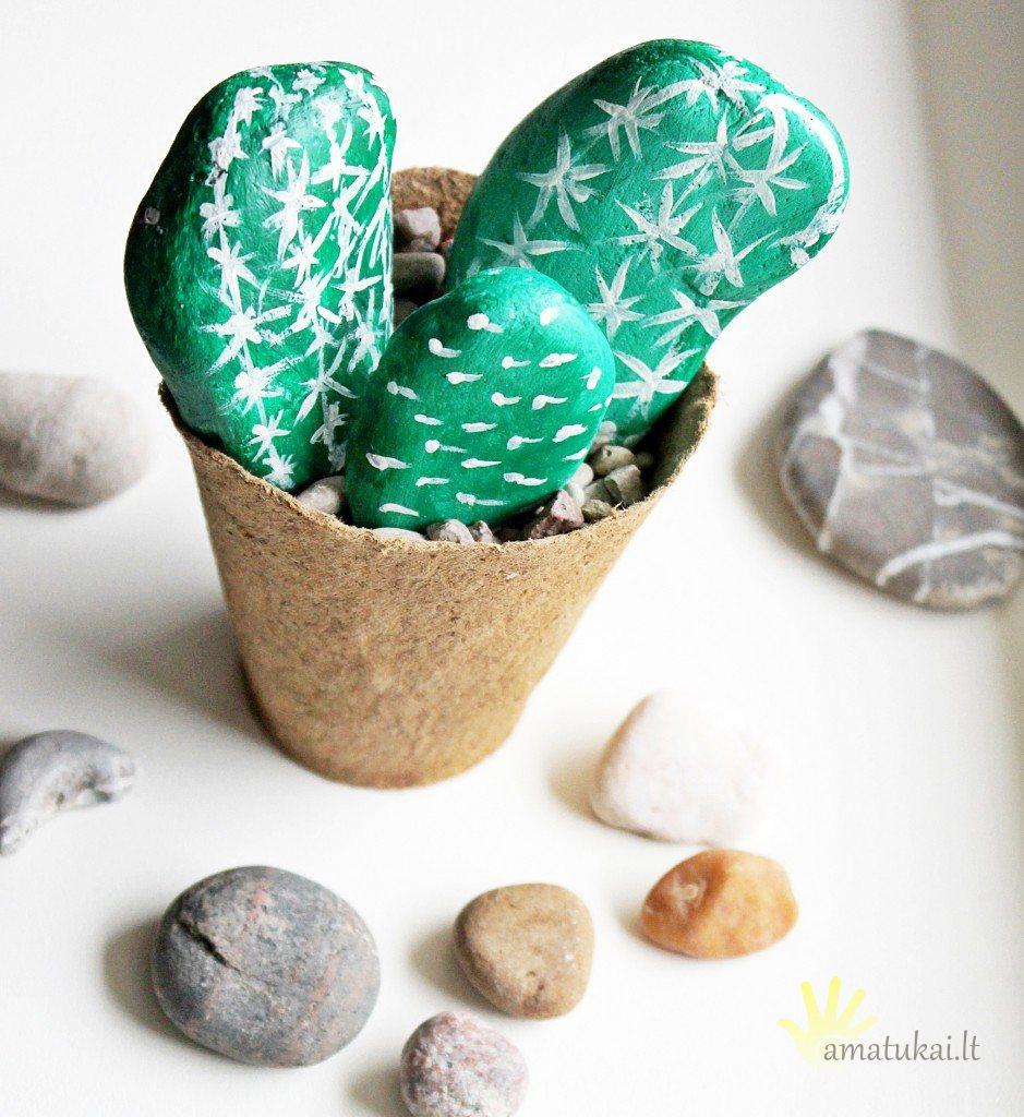 lengvas_darbelis_su vaikais_akmenukai_kaktusai4